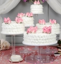 Where to rent CAKE STAND ACRYL 10 DI in St. Helens OR