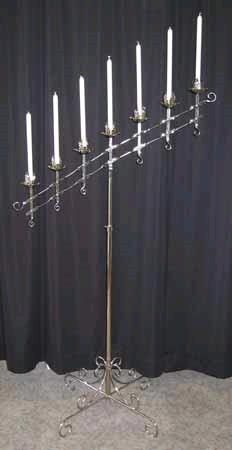 Where to find CANDELABRA, 7BR CHROME in St. Helens