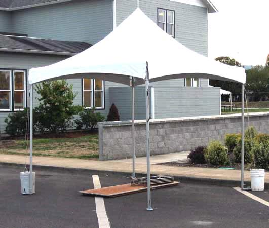 Where to find 10  X 10  WHITE HIGH-TOP TENT in St. Helens