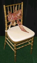Where to rent CHAIR, GOLD CHIVARI in St. Helens OR