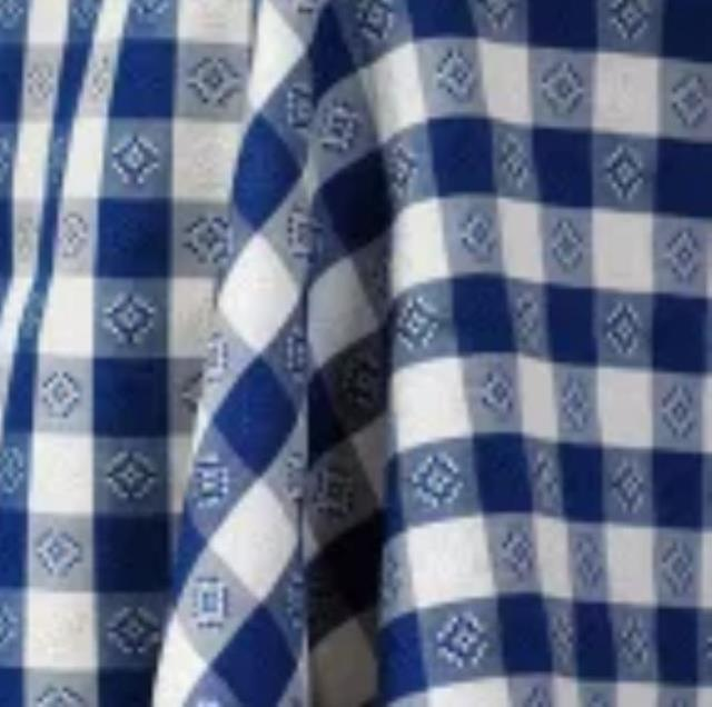 Where to find LINEN, ROUND BLUE GINGHAM 90 in St. Helens