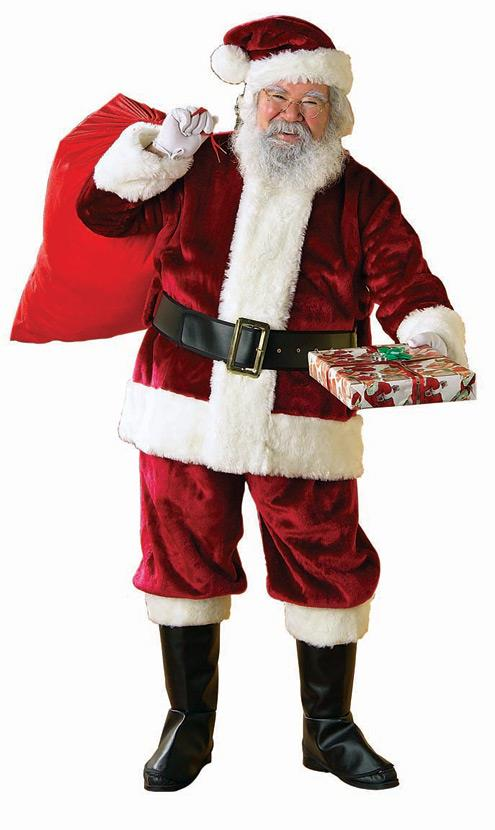Where to find SANTA SUIT, DELUXE XXL in St. Helens