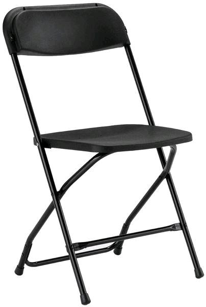 Where to find FOLDING CHAIR, BLACK in St. Helens
