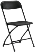 Where to rent FOLDING CHAIR, BLACK in St. Helens OR