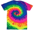 Where to rent T-SHIRT, NEON RAINBOW 2XL in St. Helens OR
