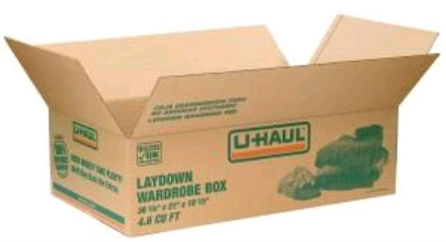 Where to find UHAUL, BOX WARDROBE LAYDOWN in St. Helens