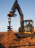 Where to rent Excavator, 35 Class  W POST DRILL   18 in St. Helens OR