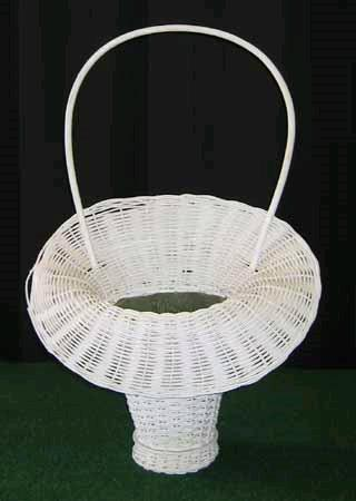 Where to find WHITE WICKER BASKET W HAN in St. Helens