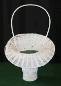 Where to rent WHITE WICKER BASKET W HAN in St. Helens OR