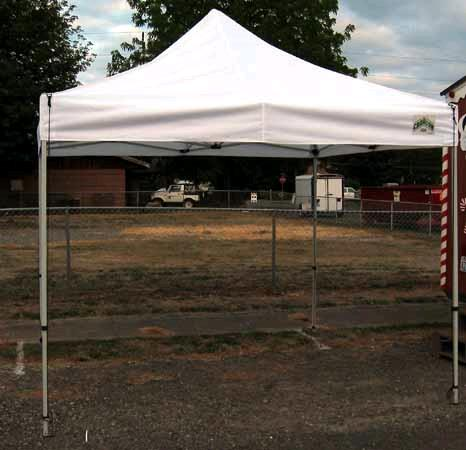 Where to find 10  X 10  WHITE POP-UP TENT in St. Helens