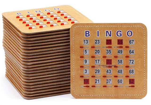 Where to find BINGO CARDS, 100 COUNT in St. Helens