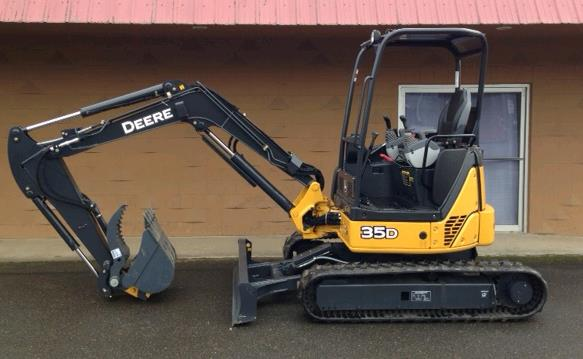 Where to find Excavator, 35 Class  W Thumb in St. Helens