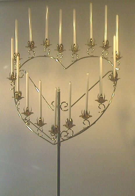 Where to find CANDELABRA, 17 BR. HEART in St. Helens