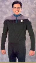 Where to rent STAR TREK DS9 SHIRT TEAL in St. Helens OR