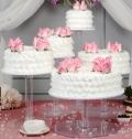 Where to rent CAKE STAND ACRYL 6 DIA in St. Helens OR