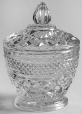 Where to rent SUGAR BOWL W LID, GLASS in St. Helens OR