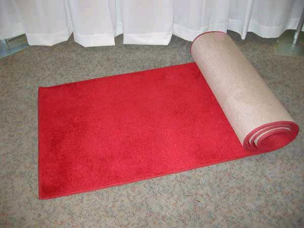 Where to find AISLE RUNNER, 25  RED in St. Helens