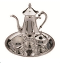 Where to rent SILVER TEA SERVICE 4PC in St. Helens OR