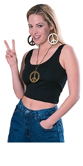 Where to rent HIPPIE, PEACE PENDANT   EARRINGS GOLD in St. Helens OR