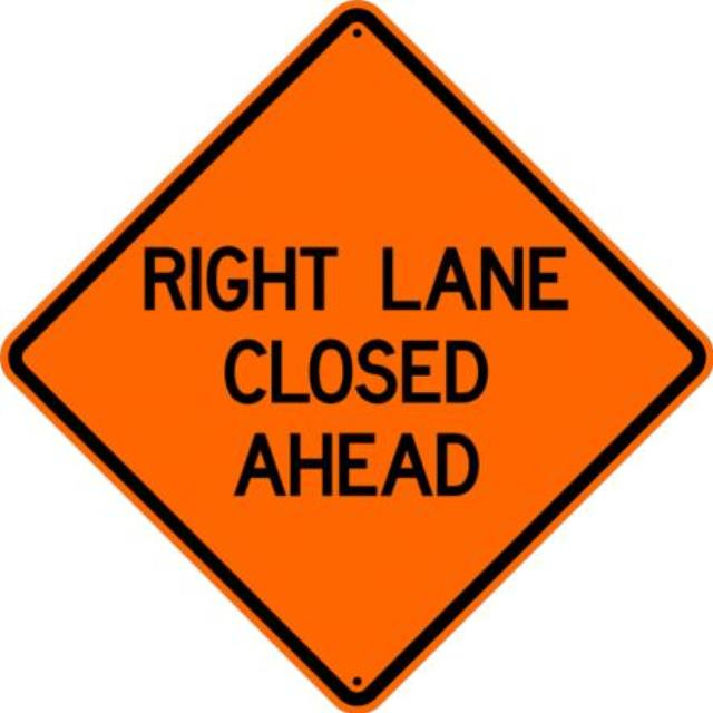 Where to find SIGN, R L LANE Closed 36X36 in St. Helens
