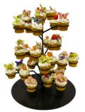 Where to rent CUPCAKE STAND 3 dz. FLOWER in St. Helens OR