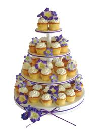 Where to find CUPCAKE STAND 4 TIER ROUND WHT in St. Helens