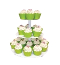 Where to rent CUPCAKE STAND 3 TIER RND WHT in St. Helens OR